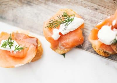 CANAPE3 400x284 - Top Tips for Choosing a Wedding Caterer