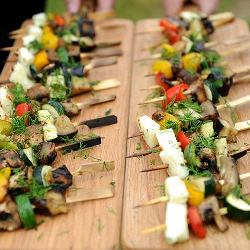 canapes - BBQ Catering South London